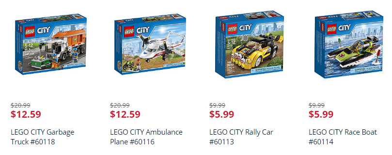 LEGO DEAL! Save 40% off Lego City Sets! (Toy Doorbuster Deal!)
