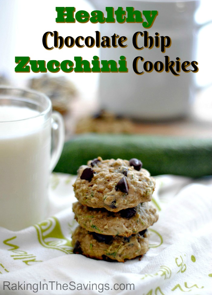 If you are looking for a new and healthy cookie recipe to try, this is it! Check out this recipe for Chocolate Chip Zucchini Cookies!