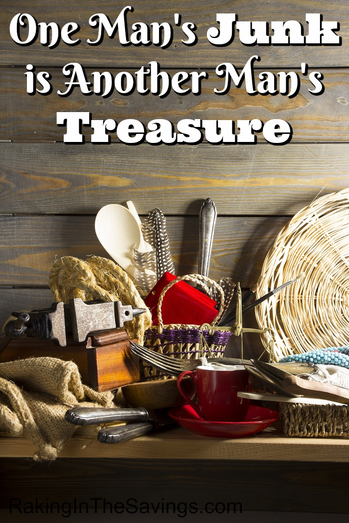 Did you know that One Man's Junk is Another Man's Treasure? If you are looking for ways to make a little extra cash, check out my tips on reselling items.