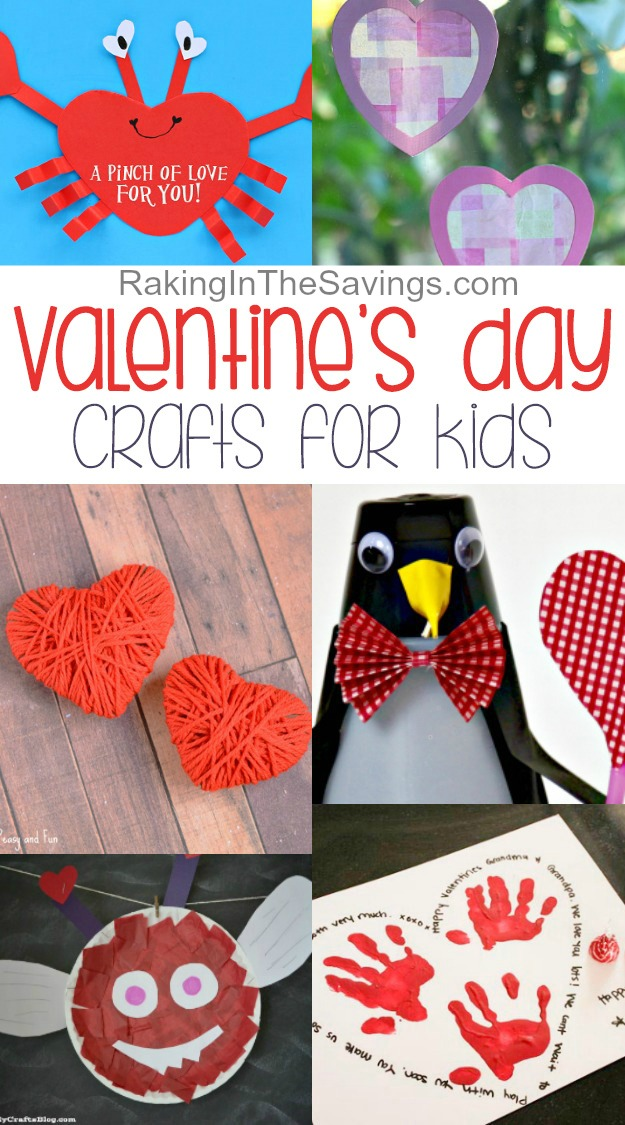 Looking for some fun crafts you can do with the kids for Valentine's Day? Check out these 20 best Valentine's Day Crafts For Kids!