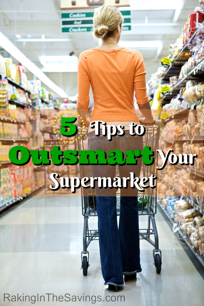 Looking for ways to save money at the grocery store? Check out these 5 Tips to Outsmart Your Supermarket!