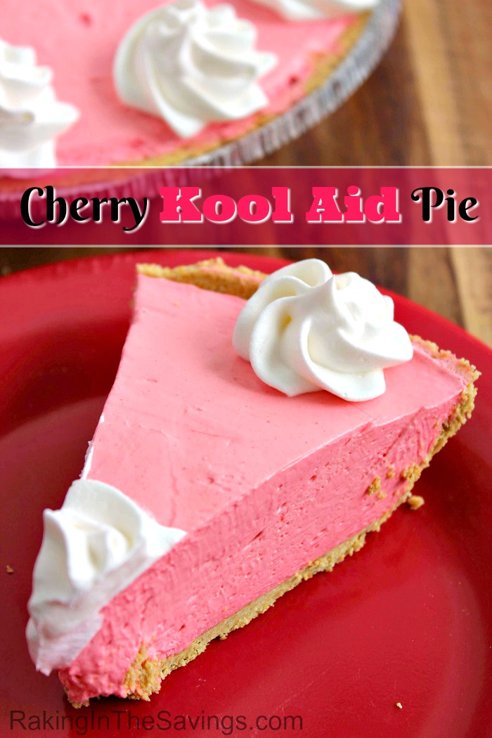 Here is an easy pie recipe for you to try. It is for a Cherry Kool-Aid pie!