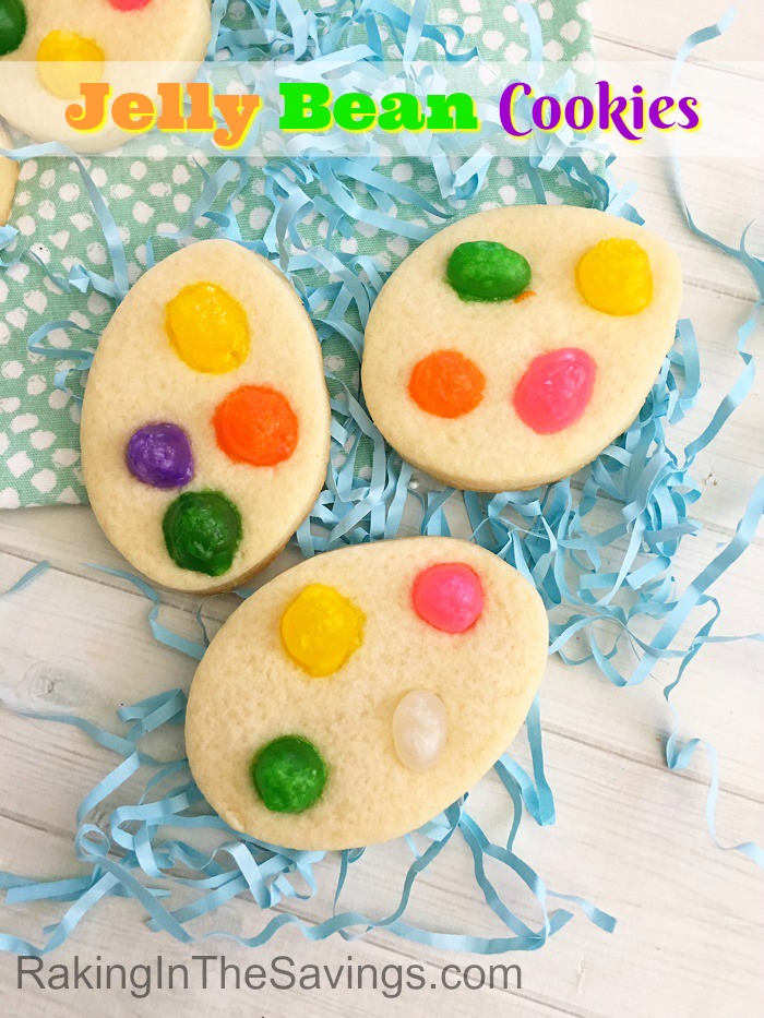 Check out these fun and easy to make Jelly bean Cookies!