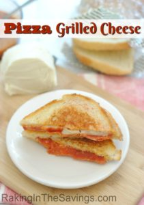 This is a must try if you love pizza and grilled cheese. It is a recipe for pizza grilled cheese!!