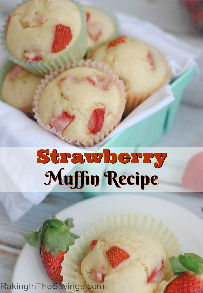 Strawberry Muffin Recipe
