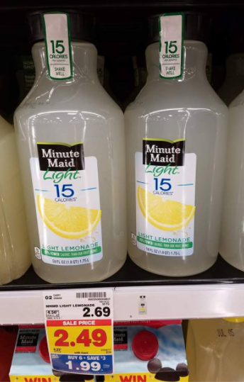 With This Hot Weather You Can Enjoy A Cool Glass Of Minute Maid Light  Lemonade For Less When You Buy It As Part Of The Mega Sale Promo And Pair  It Up ...