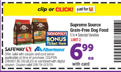 do safeway coupons double
